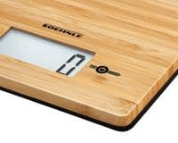 SOEHNLE Natural Bamboo Digital Kitchen Weighing Scales